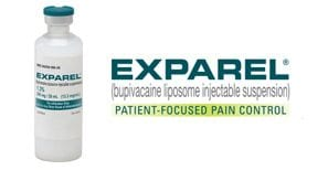Exparel Logo and Product